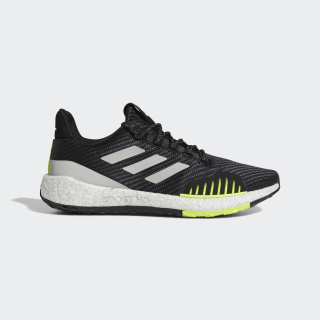 Chaussure Pulseboost HD Winter Core Black / Grey Two / Solar Yellow EF8904