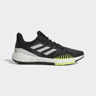 Zapatillas para correr Pureboost HD Winter Core Black / Grey Two / Solar Yellow EF8904