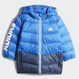Пуховик blue / white DM7111