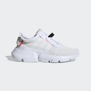 POD-S3.1 Shoes Cloud White / Cloud White / Shock Red CG7001