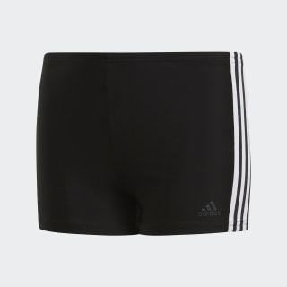 3-Stripes Swim Boxers Black / White DP7540