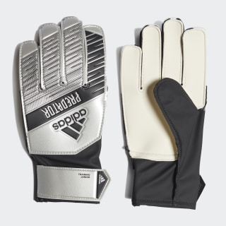 Predator Training Goalkeeper Gloves Silver Met. / Black DY2609