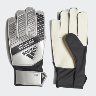 Вратарские перчатки Predator Training silver met. / black DY2609