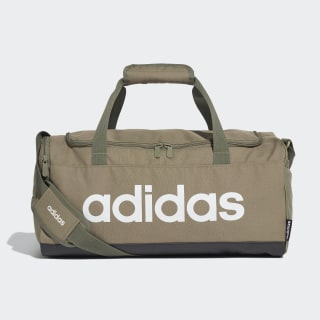 Linear Logo Duffel Bag Legacy Green / Black / White FS6502