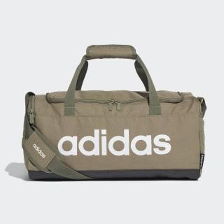 Linear Logo Duffel Bag Legacy Green / Black / White FS6502