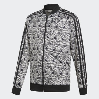 Zebra SST Track Jacket Clear Brown / Black D98903