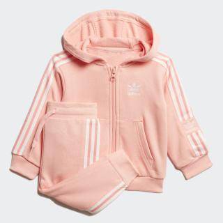 Hoodie Setje Glory Pink / White FM5603