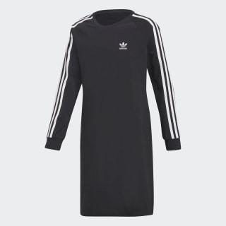 Trefoil Kleid Black / White DH2682