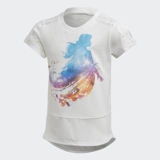 Frozen T-Shirt White / Bold Aqua FM2866