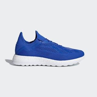 Calzado de Fútbol X 18+ FOOTBALL BLUE/FOOTBALL BLUE/SOLAR YELLOW BB7420