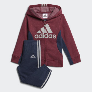 FLEECE SET Burgundy CM0648