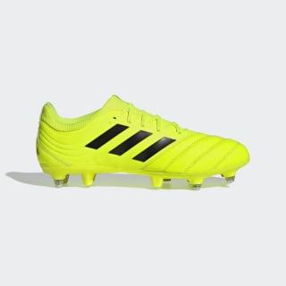 Bota de fútbol Copa 19.3 césped natural húmedo Solar Yellow / Core Black / Solar Yellow F35449