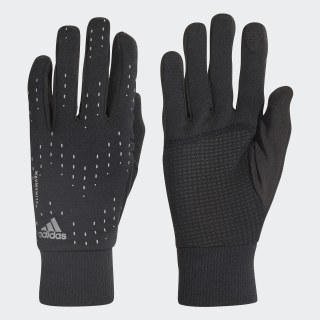 Перчатки для бега Run black / black / silver met. CY6087