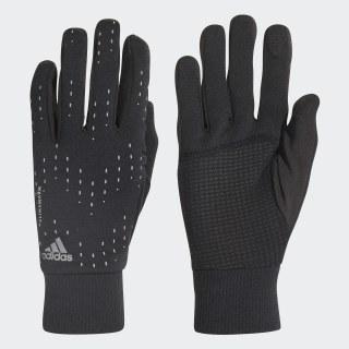 Run handsker Black / Black / Silver Met. CY6087