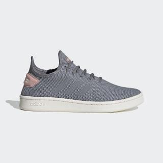 Кроссовки для тенниса Court Adapt Grey / Grey / Pink Spirit EG4063