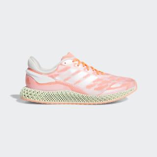 adidas 4D Run 1.0 Schoenen Cloud White / Cloud White / Signal Coral FW6838