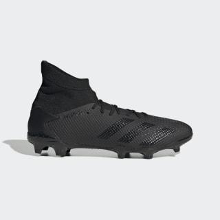 Botas de Futebol Predator 20.3 – Piso Firme Core Black / Core Black / Solid Grey EF1634