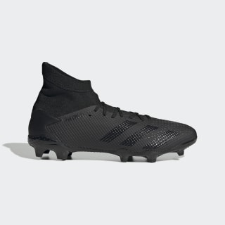 Scarpe da calcio Predator 20.3 Firm Ground Core Black / Core Black / Solid Grey EF1634