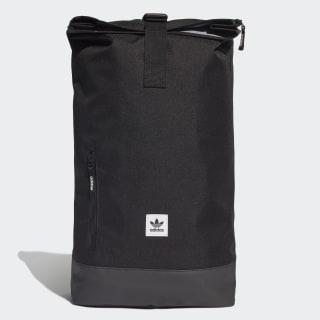 Premium Essentials Roll-Top Backpack Black ED8064