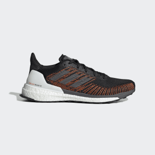 Кроссовки для бега SolarBoost ST 19 core black / grey five / solar orange G28060