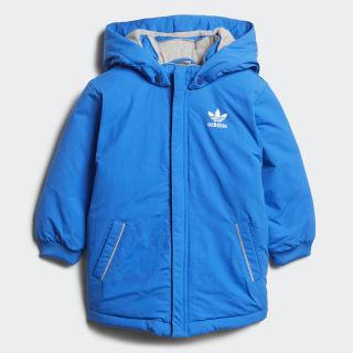 Пуховик Trefoil Real bluebird / white D96074