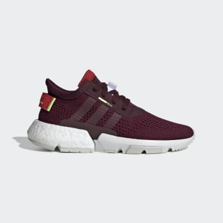 Zapatillas POD System 3.1 maroon/maroon/hi-res yellow DB3541