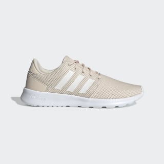 Cloudfoam QT Racer Shoes Linen / Running White / Glow Pink EE8085
