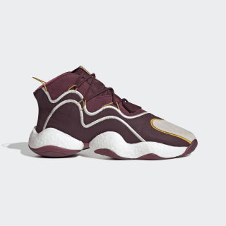 Eric Emanuel Crazy BYW Shoes Maroon / Cream White / Real Pink BD7242
