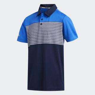 Engineered Stripe Polo Shirt Glory Blue FI8709