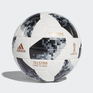 Balón Top Replique Copa Mundial de la FIFA 2018 WHITE/BLACK/SILVER MET. CD8506