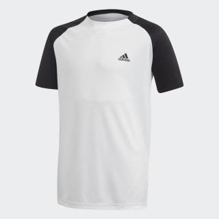 Футболка для тенниса Club White / Black / Black FK7154
