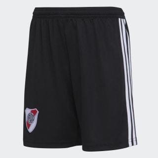 Shorts Titular de Local Club Atlético River Plate Niño WHITE/BLACK CF8961