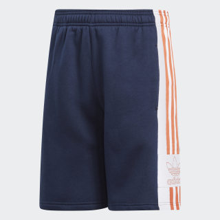 Outline Shorts Collegiate Navy / White / Raw Amber DY9361