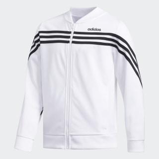 Linear Tricot Jacket White CM0943