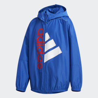 Lightweight Jacket Collegiate Royal / Vivid Red / White FM9835