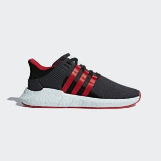 Men's EQT Support 93/17 Yuanxiao Shoes Carbon/Core Black/Scarlet DB2571