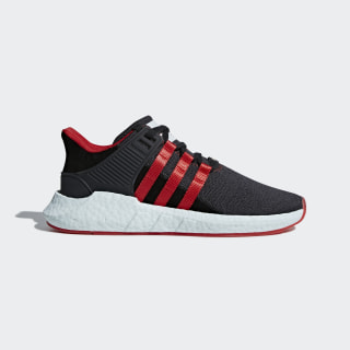 Tenis EQT Support 93/17 Yuanxiao Carbon / Core Black / Scarlet DB2571