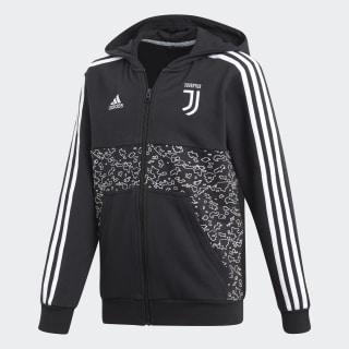 Felpa con cappuccio Juventus Black DP3823