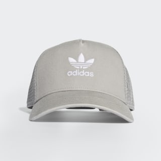 Trefoil Trucker Şapka Multi Solid Grey / White DV0232