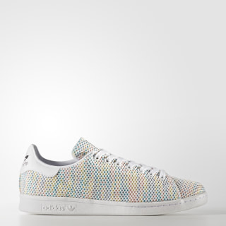 Tenis Stan Smith Coloridos Tejidos FTWR WHITE/FTWR WHITE/CORE BLACK S82250