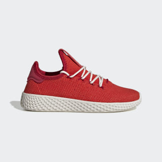 Pharrell Williams Tennis Hu Shoes Red / Red / Power Red FV0054