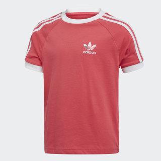 เสื้อยืด 3-Stripes Real Pink / White ED7743