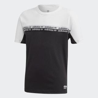 Colorblock T-shirt Black / White FM4388