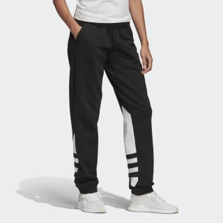 Large Logo Sweat Pants Black / White FS1310