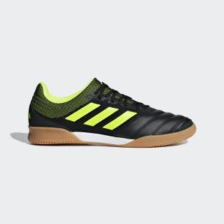 Zapatos de Fútbol Copa 19.3 Fútsal Bajo Techo Core Black / Solar Yellow / Gum M1 BB8093