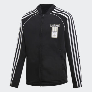 Adibreak Track Top Black / White DV2892
