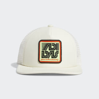 Patch Trucker Cap Cream White / Black / White EC6491