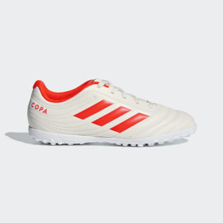 Chuteira Society Copa 19.4 off white/solar red/ftwr white D98099
