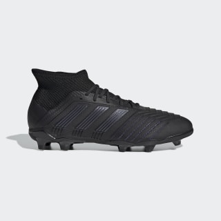 Scarpe da calcio Predator 19.1 Firm Ground Core Black / Core Black / Utility Black G25791