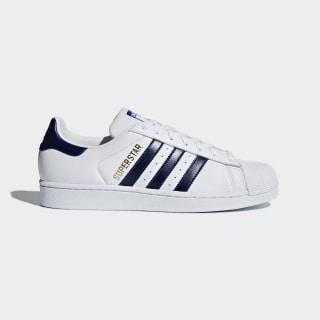 Superstar Shoes Cloud White / Collegiate Royal / Gold Metallic B41996